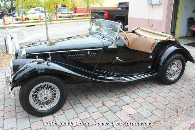 1955 Mg ROADSTER 1955 MG T-Series 1955 MG TF 1500 ROADSTER